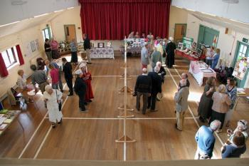 Trustees Open Morning 2011 - View of the Hall